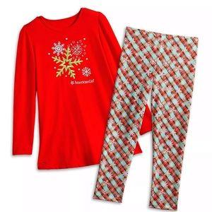 American Girl Pajamas Size 7/8